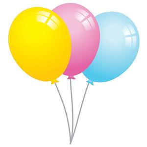 AFS Carnival Balloons Graphic