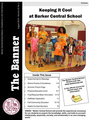 Banner Back to School 2015 Cover
