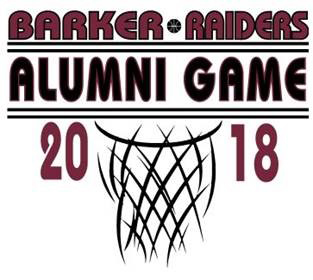 2018 Alumni Basketball Game Logo