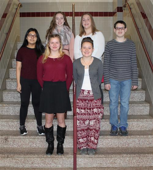 HS Nov Dec 2017 Students of the Month