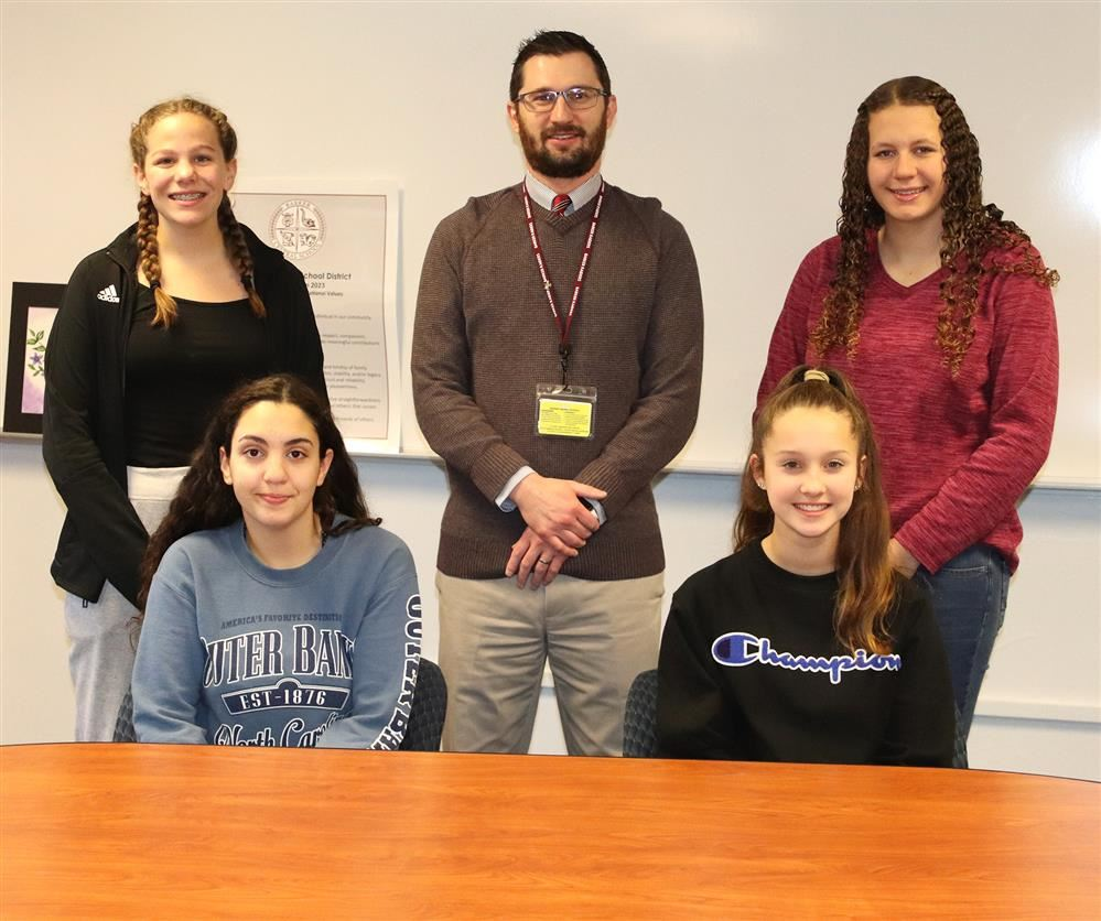 Jr./Sr. HS Students of the Month December 2019