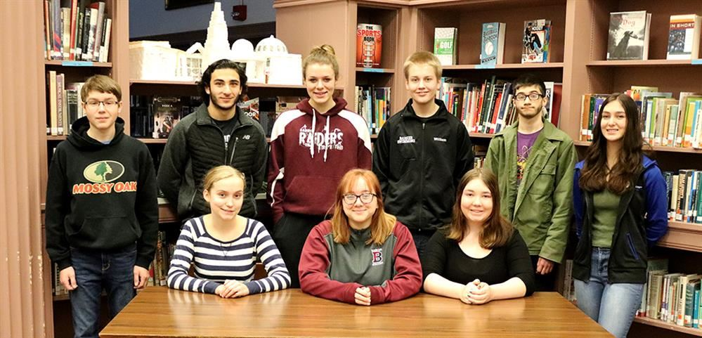 High School Students of the Month Nov Dec 2018