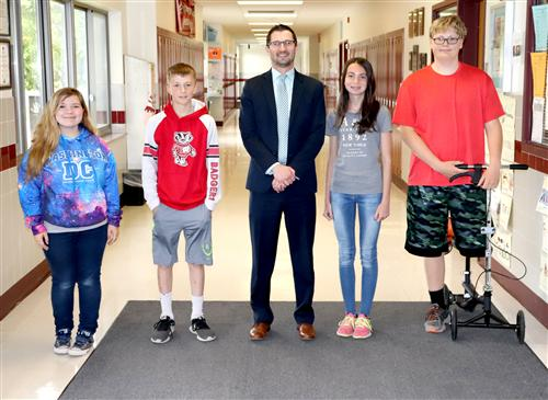 May June 2018 Jr HS Students of the Month