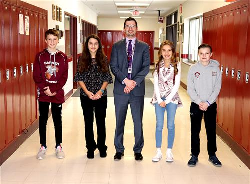 Junior High Students of the Month Nov Dec 2018