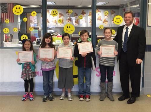 Ray Brandt Dodge >> Pratt Elementary Students of the Month / Pratt Elementary Students of the Month