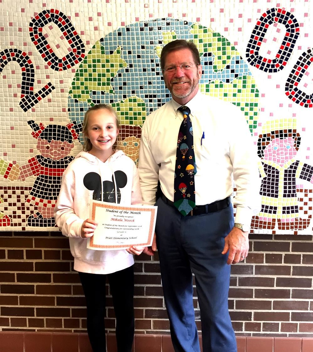 Pratt Student of the Month September 2018