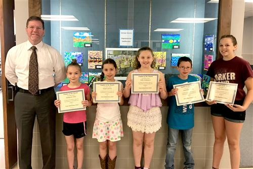 2018 May Pratt Students of the Month