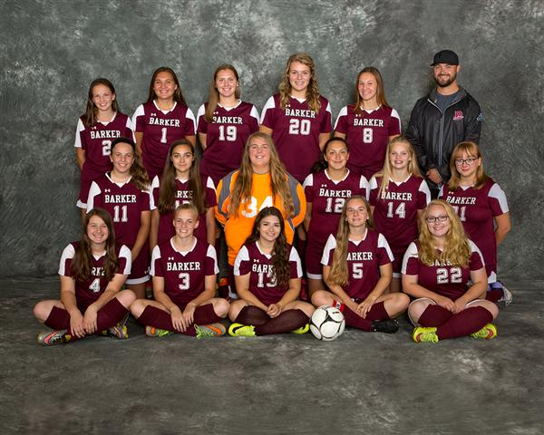 2016 Varsity Girls Soccer Team