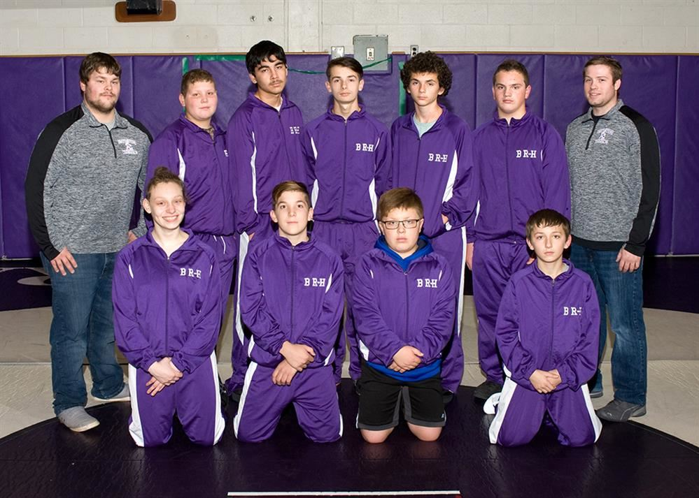 2019-2020 Modified Wrestling Team