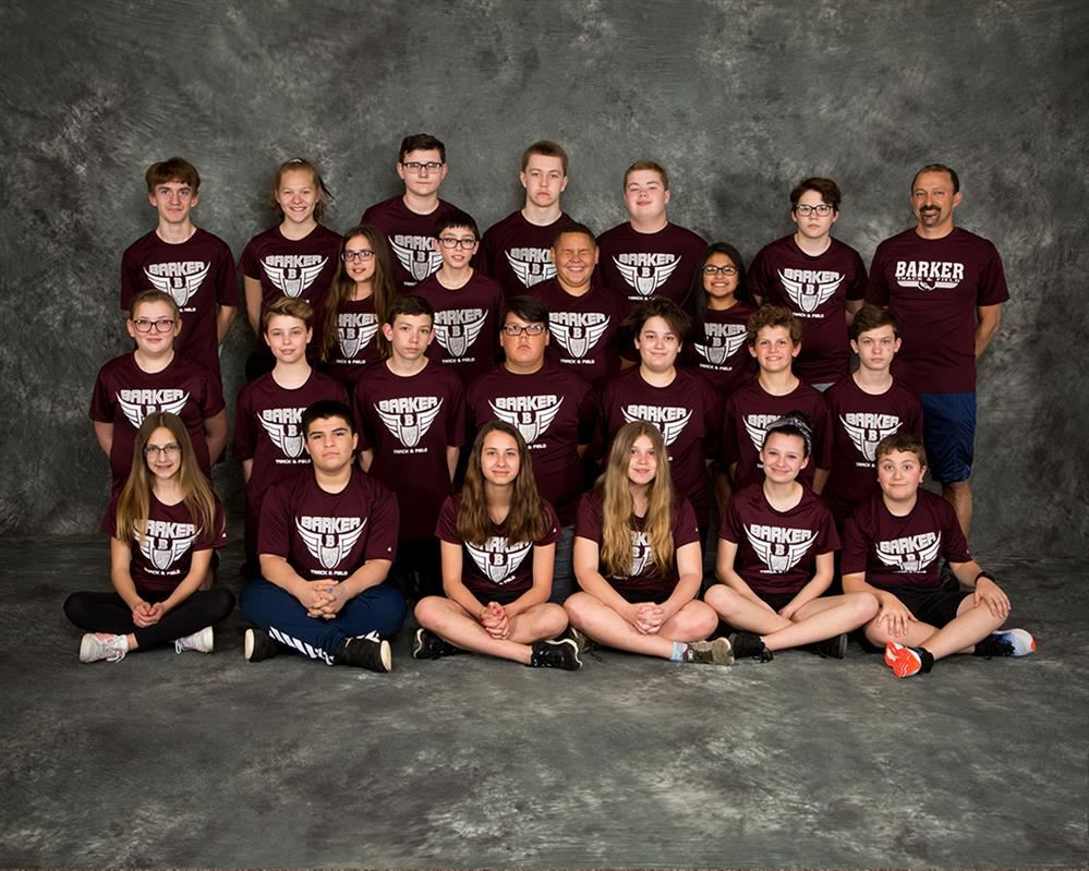 2019 Modified Track & Field Team