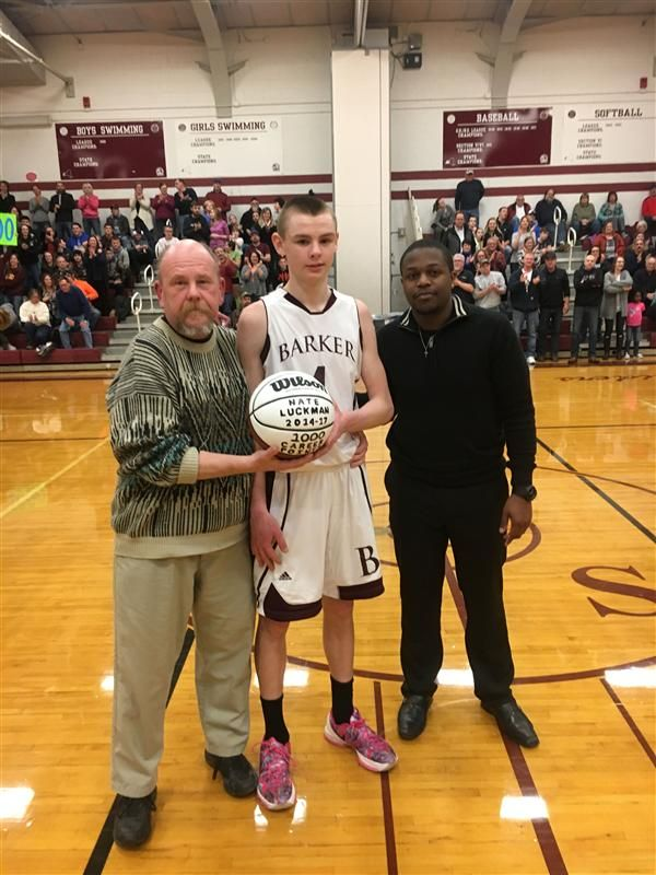 Nate Luckman 1000 Points