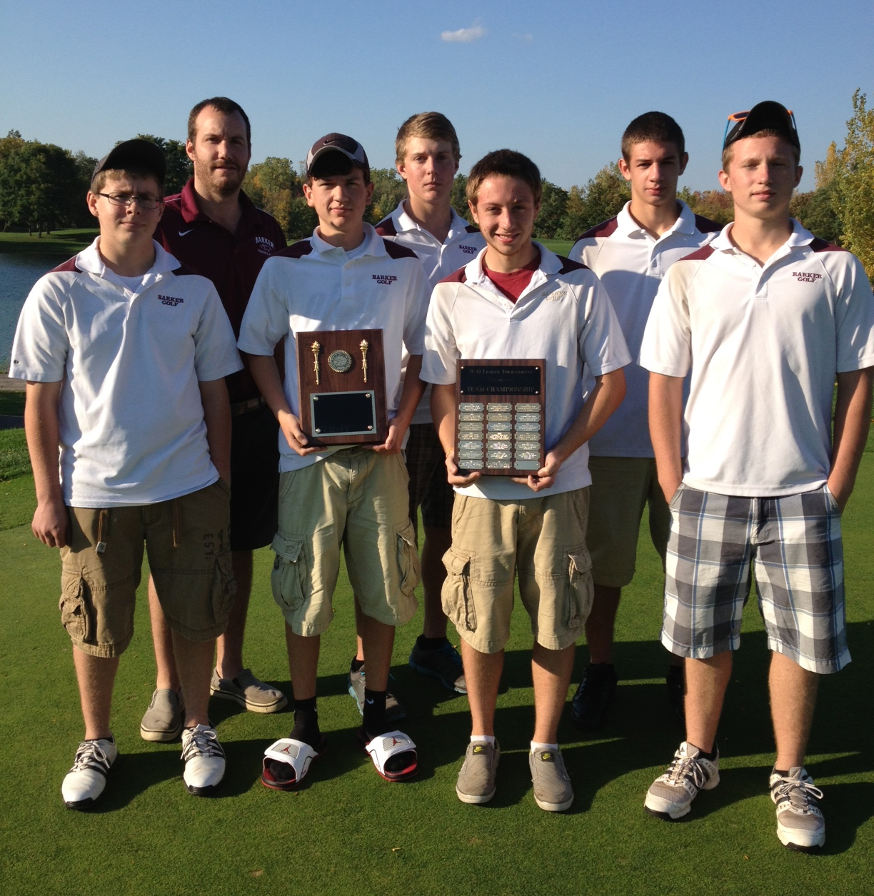2012 NO League Golf Champions